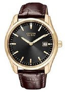 Citizen Eco Drive Men's AU1043-00E Straps Black Watch