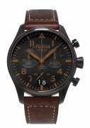 Alpina Startimer Pilot Quartz Chronograph Watch Model AL-372BBG4FBS6