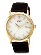 Citizen Eco Drive Men's BM7193-07B Straps Biege Watch