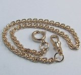 "Pocket Watch Chain 12"" Yellow"