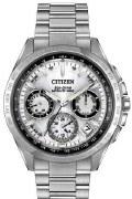 Citizen Eco Drive Satellite Wave F900 CC9010-74A Men's Silver Tone Watch