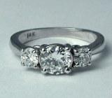 Diamond Ring 14ktw 1.12cttw