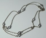 Diamond by the Yard Necklace 0.53cttw H SI2