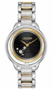 CItizen Eco-Drive L Sunrise Solitaire WAtch Model EW5524-59E