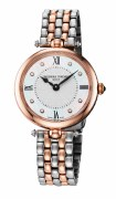 Frederique Constant Art Deco Diamond Quartz Watch 30mm Model FC-200MPWD2AR2B