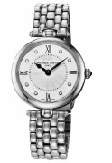 Frederique Constant Art Deco Diamond Quartz Watch 30mm Model FC-200MPWD2AR6B