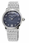 Frederique Constant Slimline Quartz Ladies Watch Model FC-220MPBD1S26B