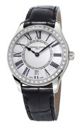 Frederique Constant Classic Quartz 36mm Diamond  Watch Model FC-220MPW3BD6