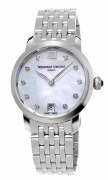 Frederique Constant Slimline Ladies Diamond 30mm Watch Model FC-220MPWD1S26B