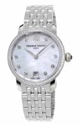 Frederique Constant Slimline Ladies Quartz Watch Model FC-220MPWD1SD26B