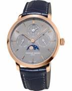 Frederique Constant Slimline Perpetual Calendar Manufacture Watch Model FC-775G4S4