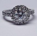 Diamond ring 14kt 1.45 cttw model FRID-125