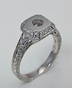 Diamond ring 14kt .16cttw model GC5573