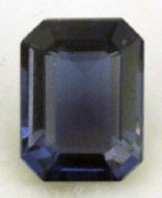 IOLITE 1.40CT EMERALD CUT