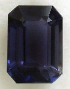 IOLITE 1.66CT EMERALD CUT