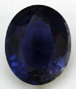 IOLITE 4.38CT OVAL CUT 12X10MM