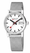 Mondaine Evo2 Big Date 30mm Mesh Watch Model MSE.30210.SM
