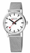 Mondaine Evo2 35mm Mesh Watch Model MSE.35110.SM