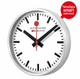 Mondaine Smart StoptogoWall Clock Model MSM.25S10