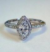 Diamond ring 14kt 1.02 cttw model MZ-591D