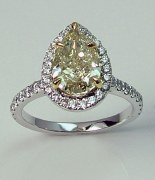 Diamond ring 18kt 2.64 cttw model NAF-13