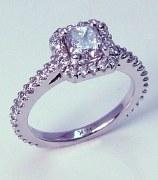 Diamond ring 14kt 1.72 cttw model PA-1C