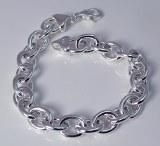 Sterling silver bracelet link design