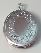 Sterling Oval Locket