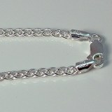 Sterling Silver Spiga Chain 16