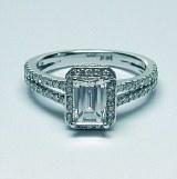 Diamond ring 14kt gold 1.85 cttw model SDI-35A