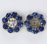Earring Jacket Sapphires 2.00c