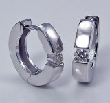 Diamond Hoop 14ktw .40cttw