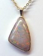 Opal Pendant 11.70 carat 14kt yellow gold model SWP-Opal-1170