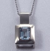 Aquamarine Pendant 0.84ct