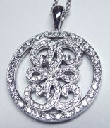 Diamond Italian Love Pendant