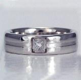 Diamond Ring Gent's 18kt