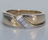 Diamond band 14kt gold 0.20cttw model SWR0242Y