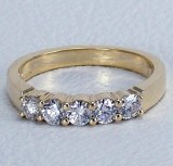 Diamond band 14kt gold 0.50 cttw model SWR2502Y