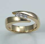 Diamond band 14kt gold 0.21 cttw model SWR7-9