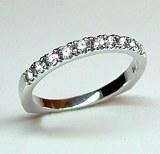 Diamond band 18kt gold 0.32 cttw model SWR9377