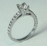 Diamond engagement ring 0.96cttw model SWR9391