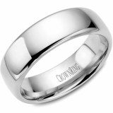A Wedding band 14kw 7mm Supreme Heavy Weight