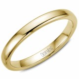 A Wedding band 14ky 3mm Supreme Heavy Weight