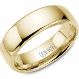 A Wedding band 14ky 7mm Supreme Heavy Weight