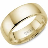 A Wedding band 14ky 8mm Supreme Heavy Weight