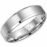 Wedding band 14kt rose 5mm
