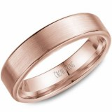 Wedding band 14kt rose 5.5mm