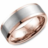 Weddinb band 14kt two tone 8mm model WB-9845WR