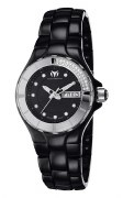 Technomarine Women's 110027C Cruise Ceramic Black Watch