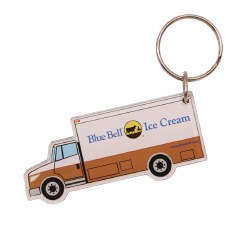 Delivery Truck Key Ring